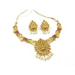 Necklace Sets Wedding Gold Necklace Set Manufacturer from Mumbai
