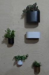 Decorative Wall Planters In 5 Different Sizes & Shapes