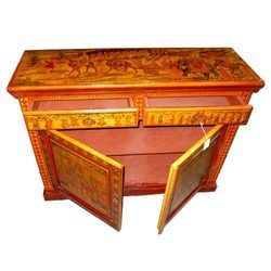 Wooden Antique Table Drawer