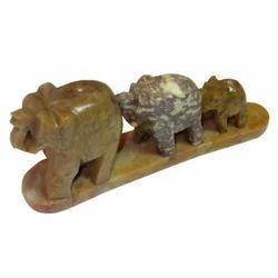 Soapstone Elephant Line