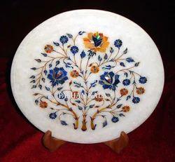 Marble Inlay Handmade Plates