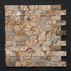 Bidasar Brown Brick Mosaic