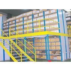 Slotted Angles Mezzanine Floor