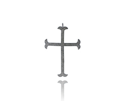 Latin Cross 925 Silver Pendant