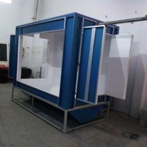 DIY Powder Coating Booth