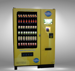 Smart Food Vending Machine with Electronic Transaction