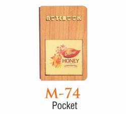 Wooden Pocket Diary