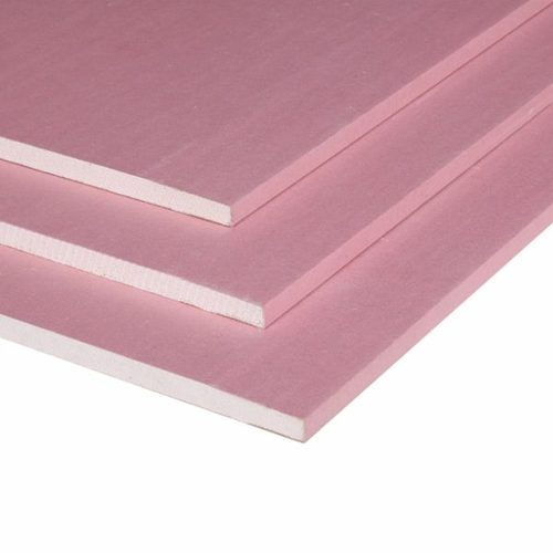 Paper faced gypsum board fire resistant