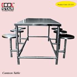 Canteen Table Steel 8 Seter