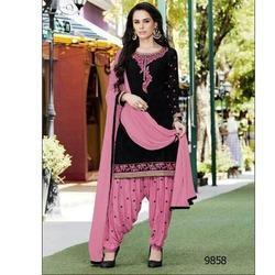 90d12acbb7 Designer Cotton Patiyala Suits - Patiala Suit Manufacturer from Surat
