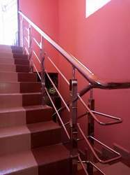 SS 304 Staircase Railing