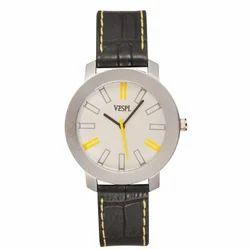 Vespl Analogue Silver Dial Men's Watch (VW1003)
