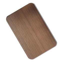 Stainless Steel Bronze Hairline Sheets