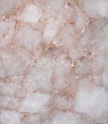 Back Lit Gemstone Quartz Tile