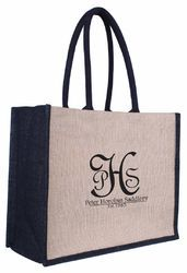 Oval Handle Jute Promotional Bags