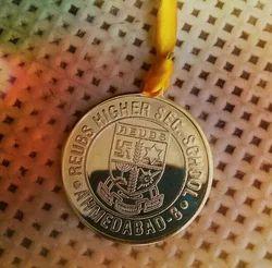 Gold Die Punch Medals