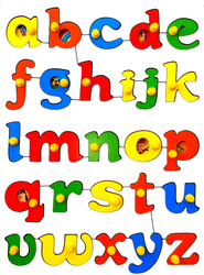 Abc Lowercase with Picture Puzzle