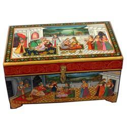 Wooden Painting Box