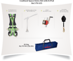 Confined Space Entry Kit with K-Pod