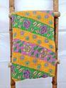 Vintage Kantha Quilt  - Saree Kantha Quilts