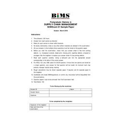 Question Paper Printing