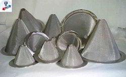 Zirconium Cone Type Strainers