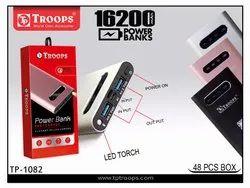 Troops Tp-1082 16200mah Slim Power Bank