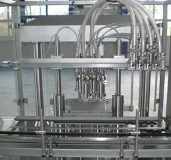 Peristaltic Pump Based Filling Machine