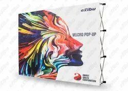 EXIBU Velcro Pop Up Backdrop