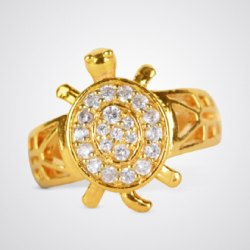 Meru Gold Plated Ring