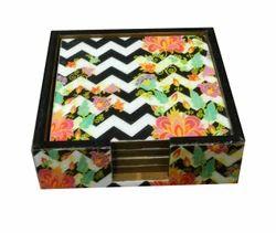 MDF Wooden Tea Coasters