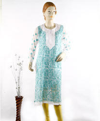 Chikan Embroidered Kurti