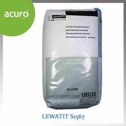 Lewatit S1567 Acidic Cation Exchange Resin