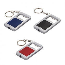 3 In 1 Key Chain With Opener And Torch (rectangle)