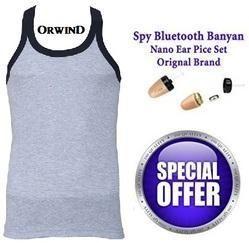 Spy Banyan Vest India Bluetooth GSM