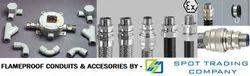 Flameproof Flexible Metallic Conduits & Accesories