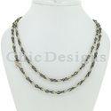Pave Diamond Chain Necklace Jewelry