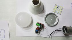 Philips Type LED SKD Bulb Raw Material