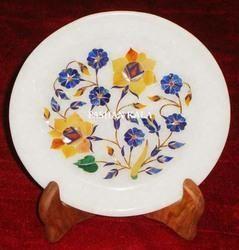 Handmade Marble Stone Plate