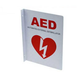 AED 90 Degree Type Sign