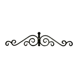 Scroll Iron Wall Decor