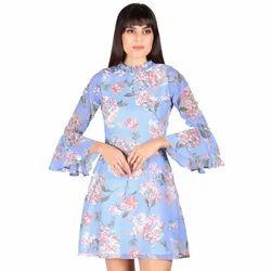 Blue Heaven Ladies Short Dress
