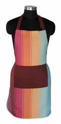 Stripe Design Cotton Apron