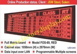 LED Display Systems - LED Boards Manufacturer from Chennai