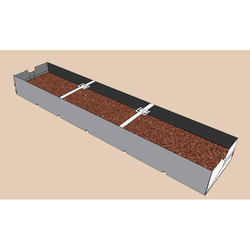 Mapal Strawberries Soilless Trough PVC 210 Open Type