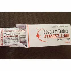 Etizolam  Etizest MD 1mg Tablets