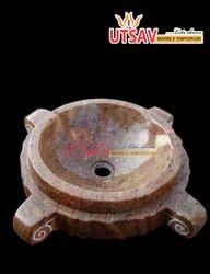 Brown Granite Wash Basin