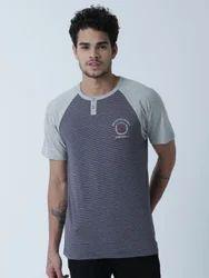 Modern Henly Neck T Shirt