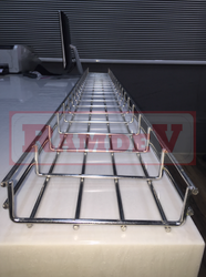 Wire Mesh Cable Tray - Mesh Type Cable Tray Manufacturer from Ahmedabad