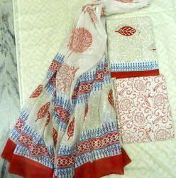 Aaditri Cotton Ladies Printed Suit Materials